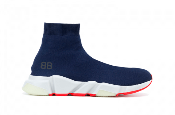 BALENCIAGA SPEED RUNNER Mid / Navy