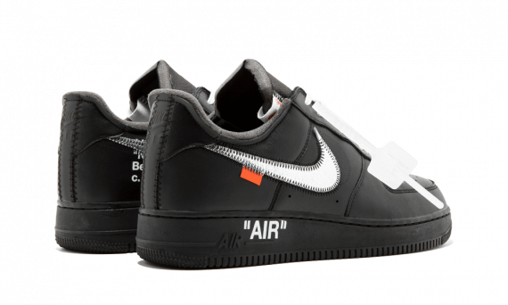 Nike  x Off White Air Force 1 07 Virgil x MoMa BLACK