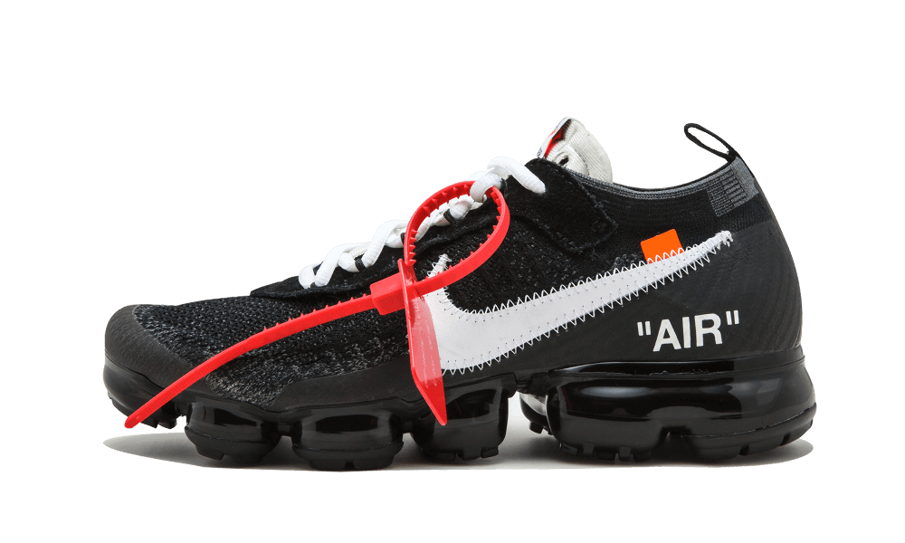 $195 Perfect Nike Off-White Air Vapormax Black / OW Free Shipping Worldwide snkrs