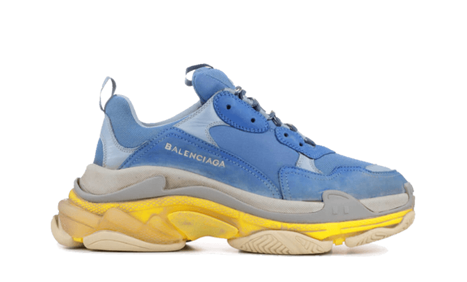 $285 Perfect Balenciaga Triple S Trainers Resille Doubl Free Shipping via DHL sneakers