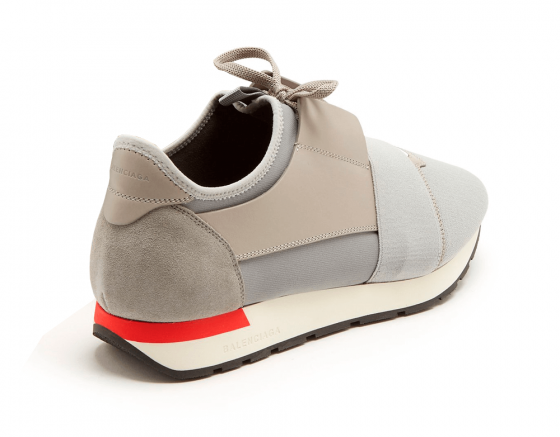 Buy Cheap Balenciaga Race Runner Gray / Red sneakers online
