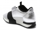 Buy New Balenciaga Race Runner Metallic / Black shoes online