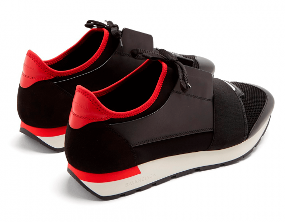 BALENCIAGA RACE RUNNERS Red / Black