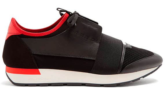 e2f70f2cb27e For sale Cheap Balenciaga Race Runner Red   Black sneakers online