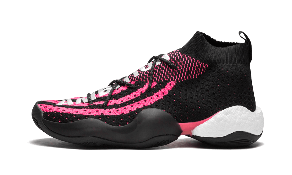$195 Perfect Adidas CRAZY BYW Black Pink Free Shipping Worldwide cheap