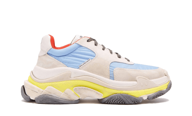Buy Your size  Balenciaga  Triple S Trainers Blue / Red 2.0 shoes