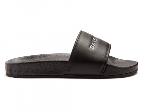 Balenciaga Sandals Black / White shoes online