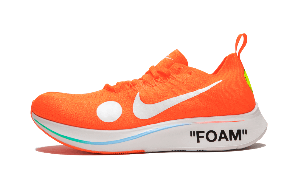 $195 Perfect Nike Off-White Zoom Fly Mercurial Orange / OW Free Shipping Worldwide store