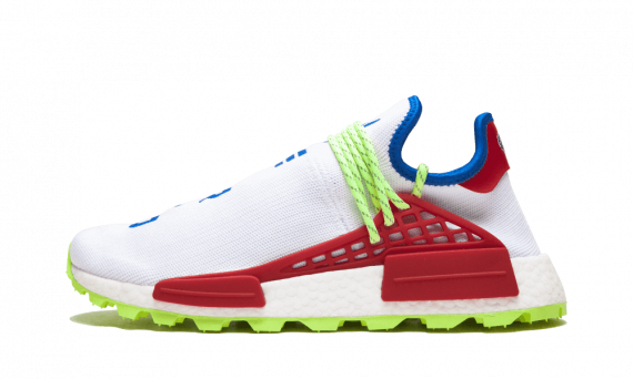 Adidas x Pharrell Williams NMD Human Race TRAIL NERD White