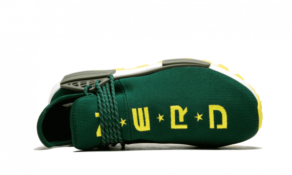 The best Human Race Adidas HU Trail NERD Green / PW sneakers online