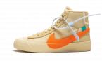 New Nike Off-White Blazer Mid All Hallows Eve / OW sneakers
