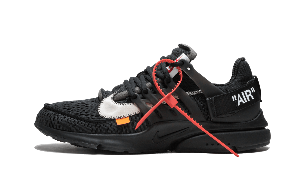 $195 Perfect Nike Off-White Air Presto Black Max / OW Free Shipping Worldwide new
