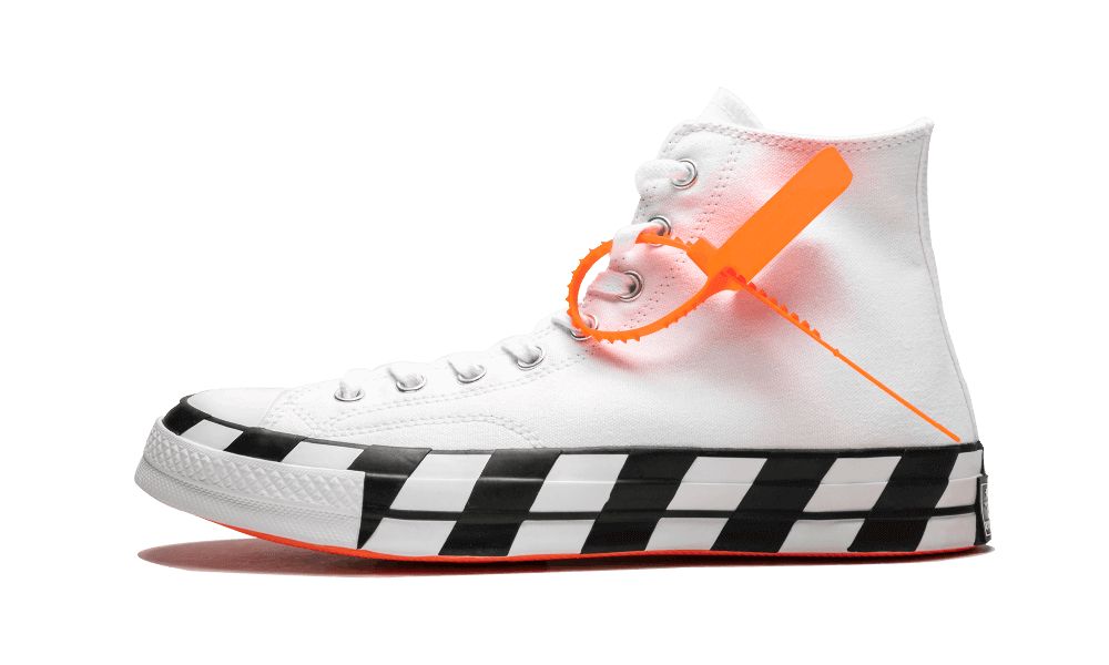 Buy Womens Nike Off-White    Chuck 70 Hi / OW White Black shoes online