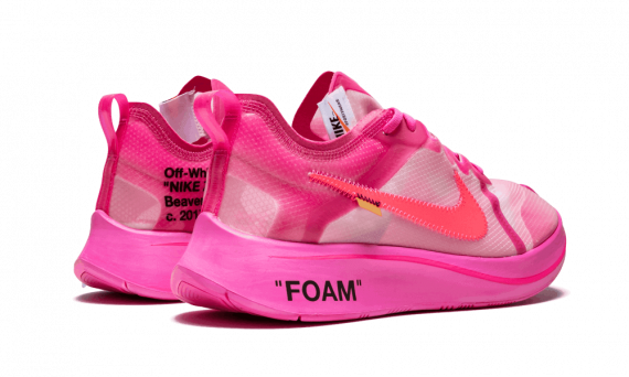 f322bfc499aa  195 Perfect Nike Off-White The 10   OW Zoom Fly Tulip Pink Free ...