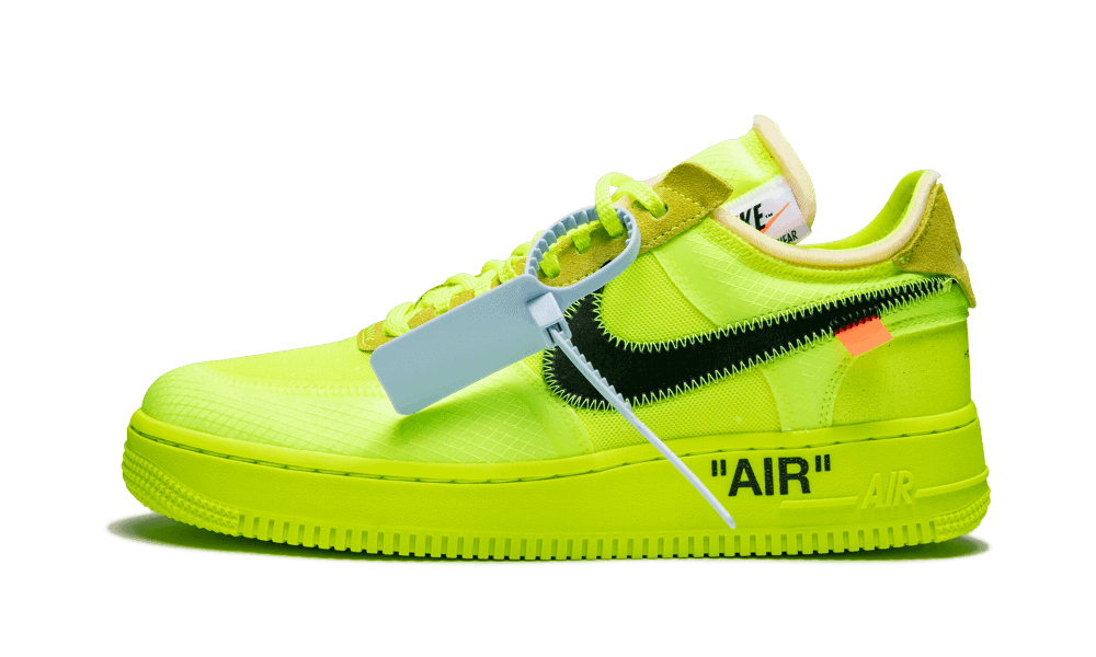 Buy New Nike Off-White    Air Force 1 Low / OW Volt sneakers