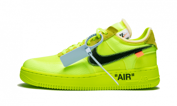 The best Nike Off White Air Force 1 Low OW Volt shoes