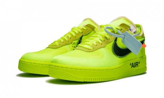 Buy New Nike Off-White Air Force 1 Low / OW Volt
