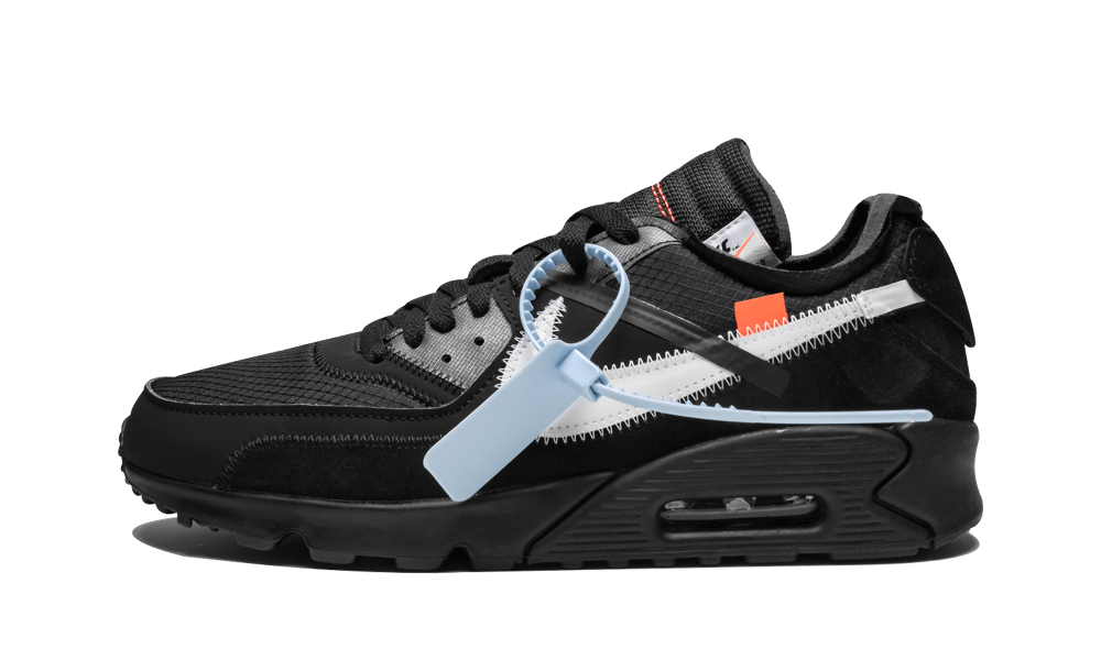 New Nike Off-White    Air Max 90 / OW Black shoes