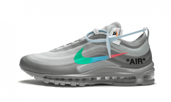 premium selection a000f b8f15 Buy Womens Nike Off-White Air Max 97 / OW Menta shoes online