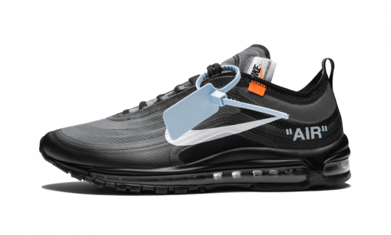 New Nike Off-White    Air Max 97 / OW Black shoes