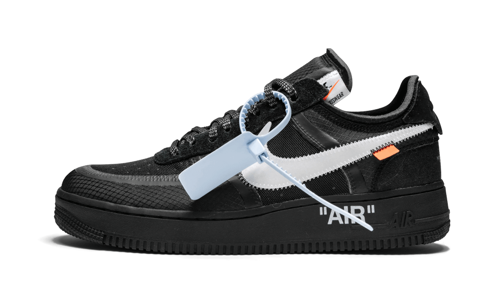 Buy New Nike Off-White    Air Force 1 Low / OW Black sneakers