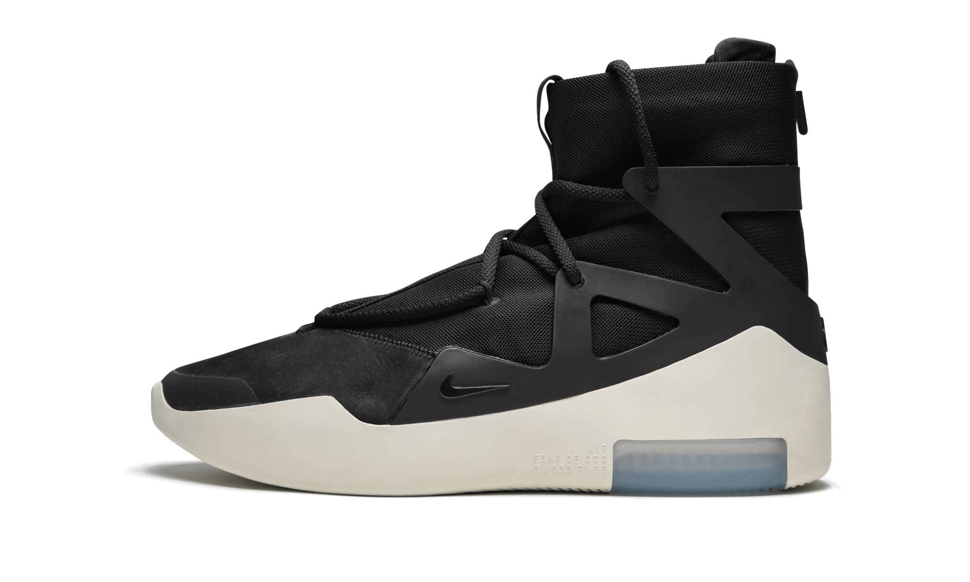 Buy New Nike     Air Fear Of God 1 Black sneakers
