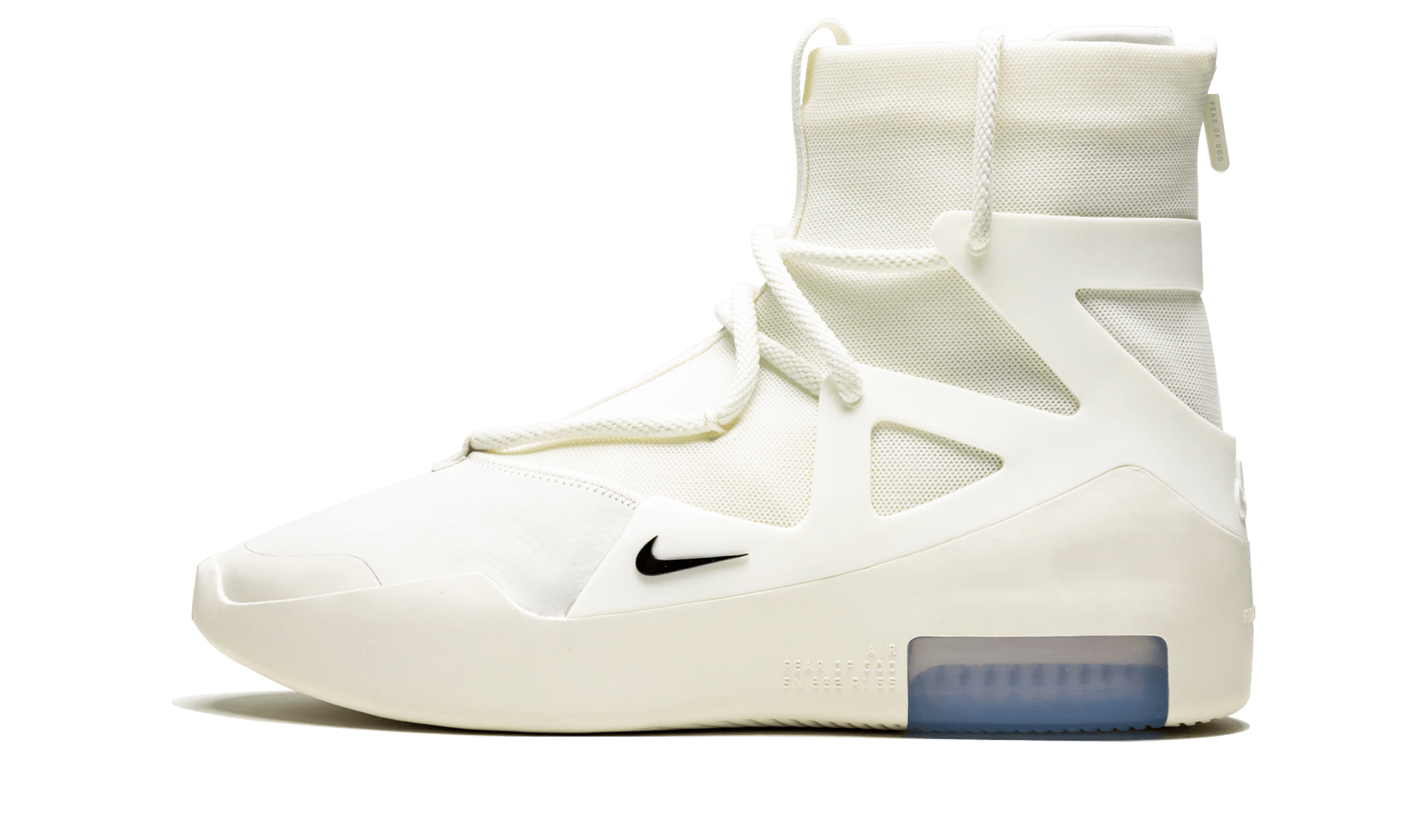 Buy New Nike     Air Fear Of God 1 Sail sneakers