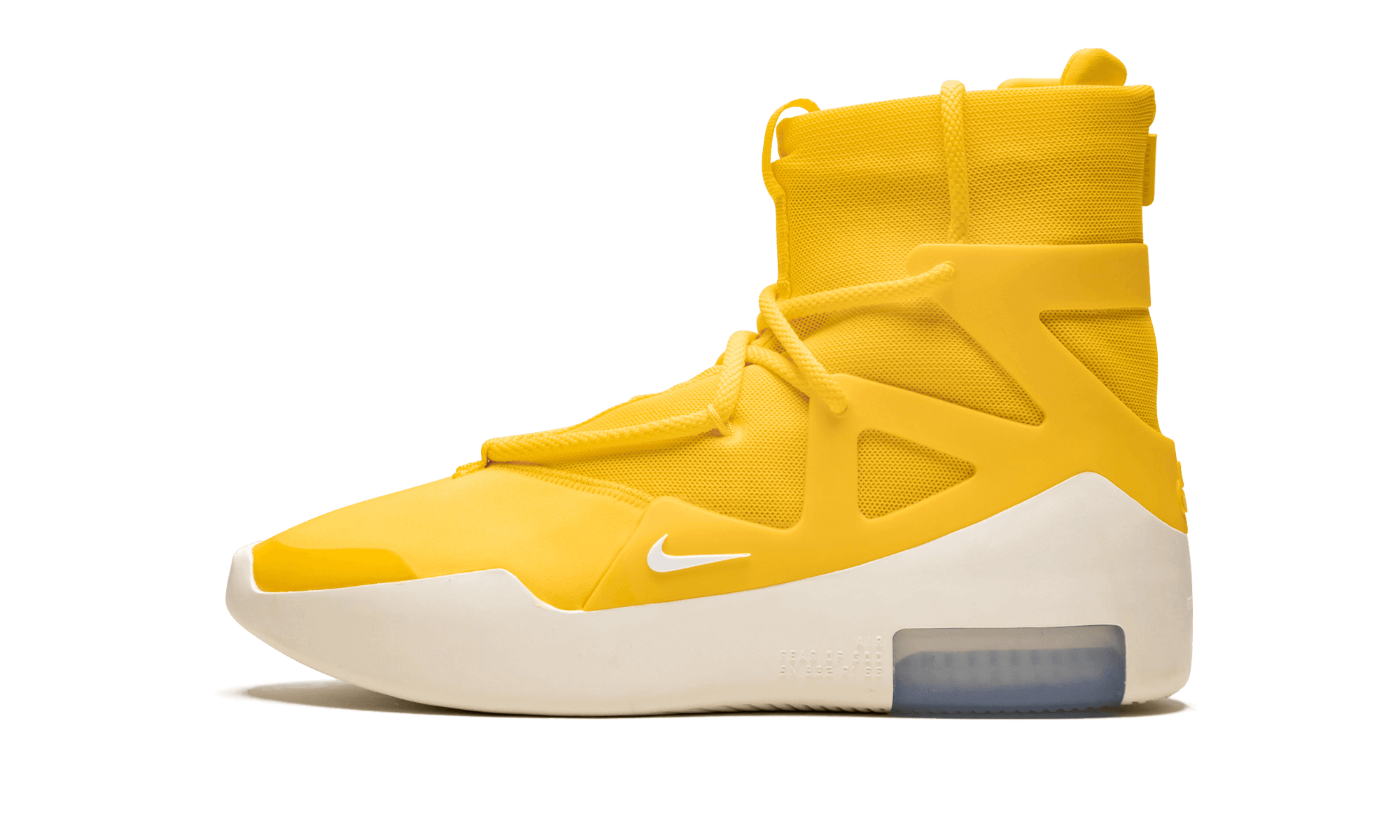 Buy New Nike     Air Fear of God 1 Amarillo sneakers