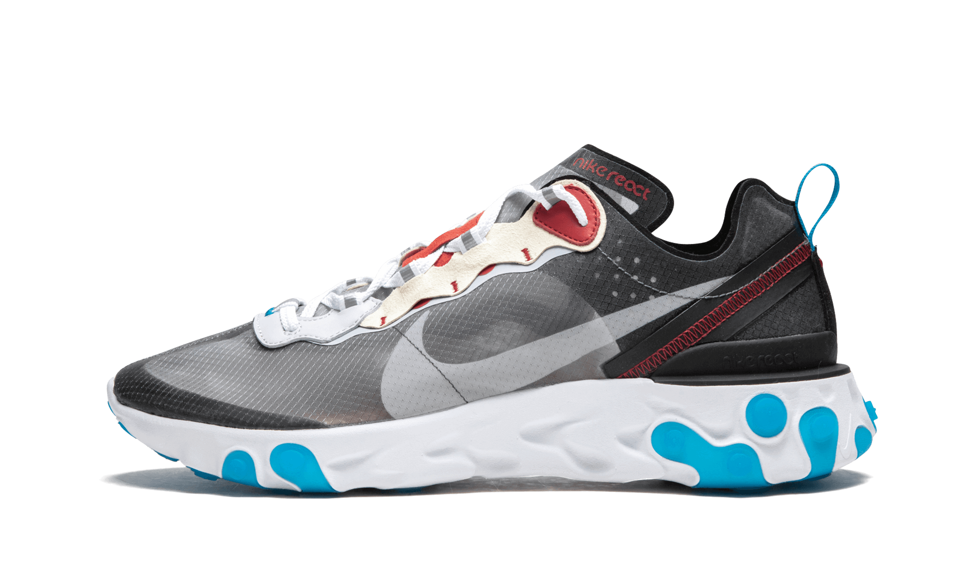 Buy New Nike REACT ELEMENT 87    Dark Grey sneakers