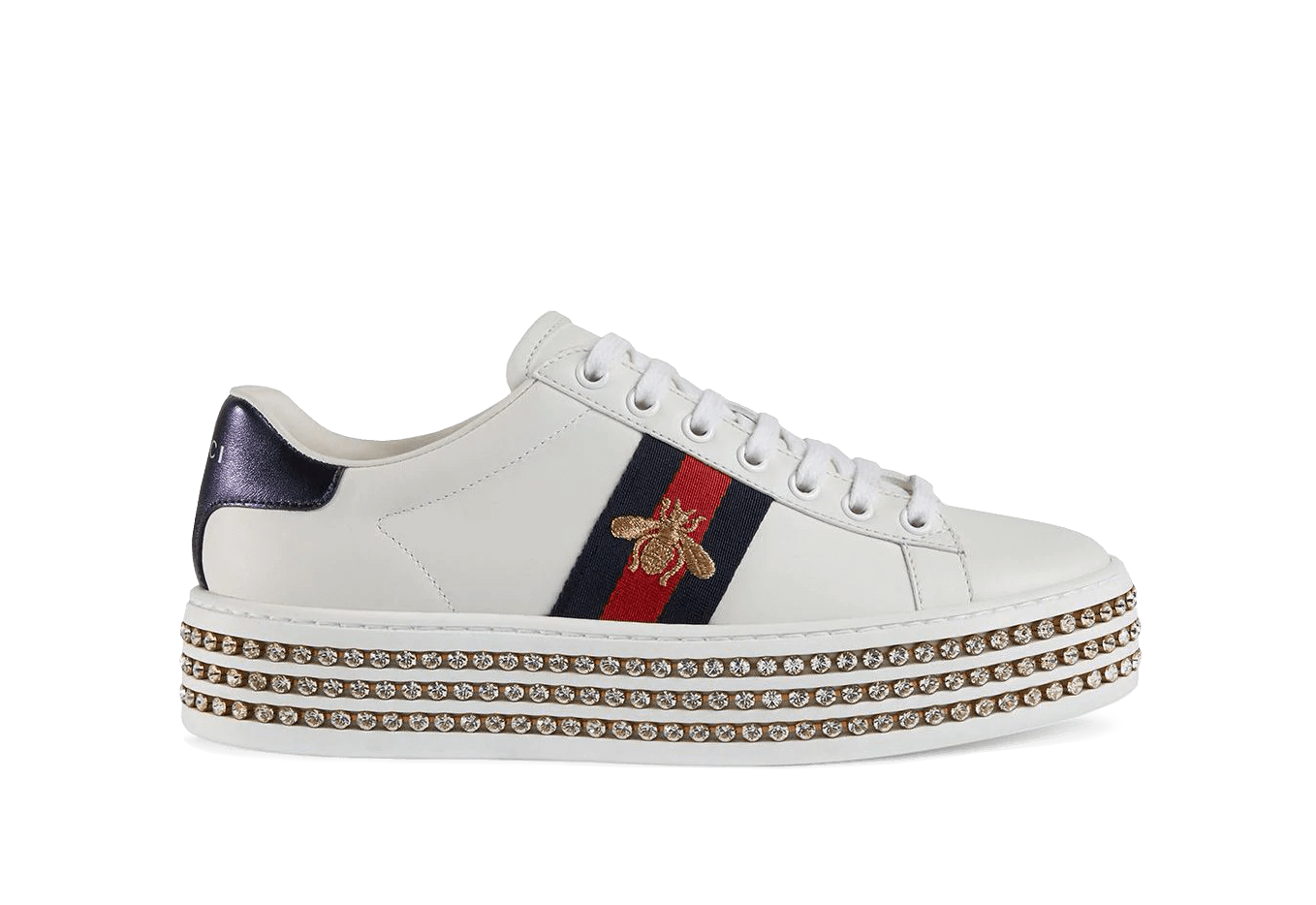 Buy New Gucci     Crystals sneakers