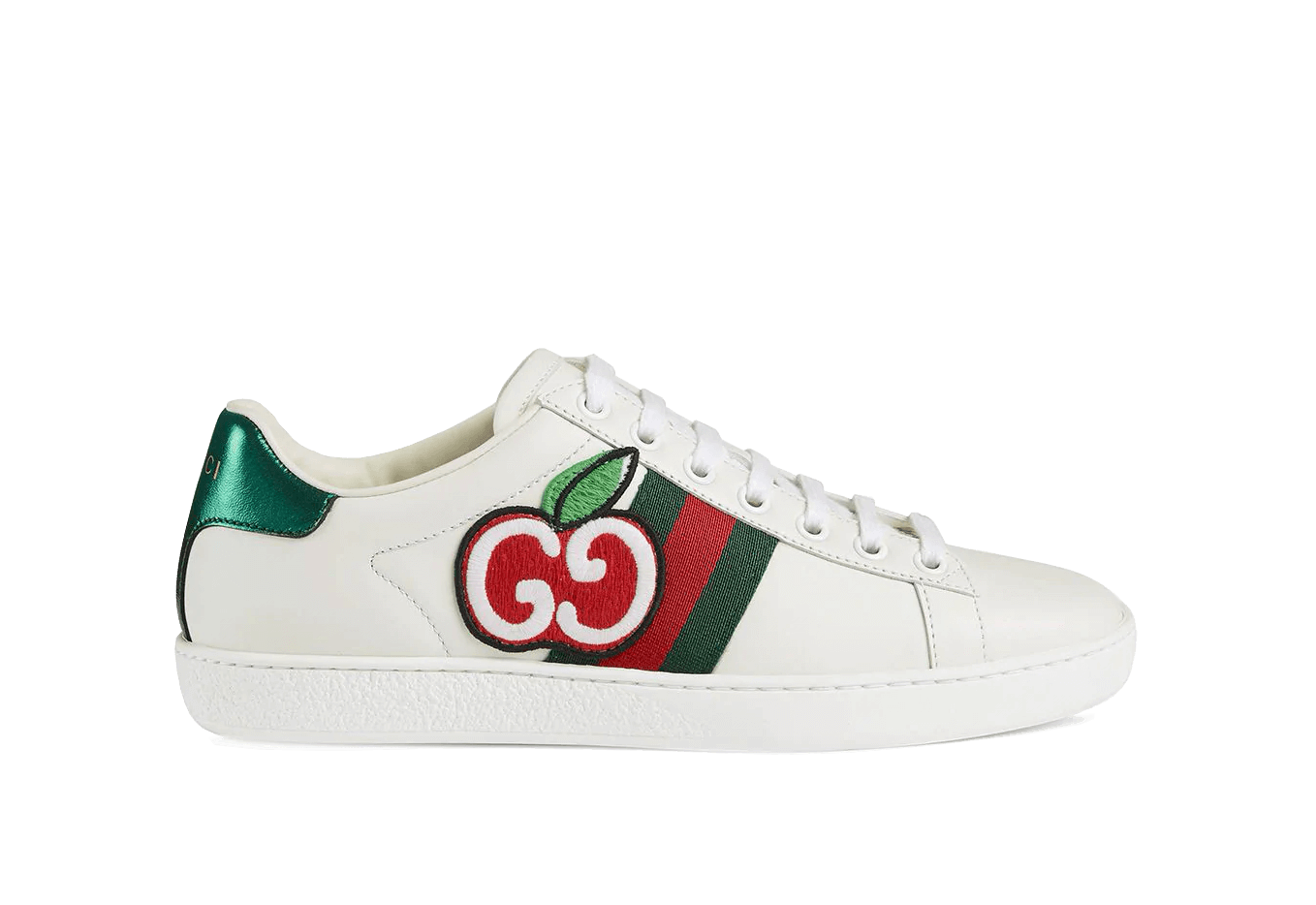 Buy New Gucci     GG Apple Sneakers sneakers