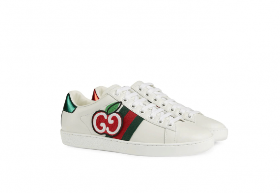 Gucci Ace GG Apple Sneakers