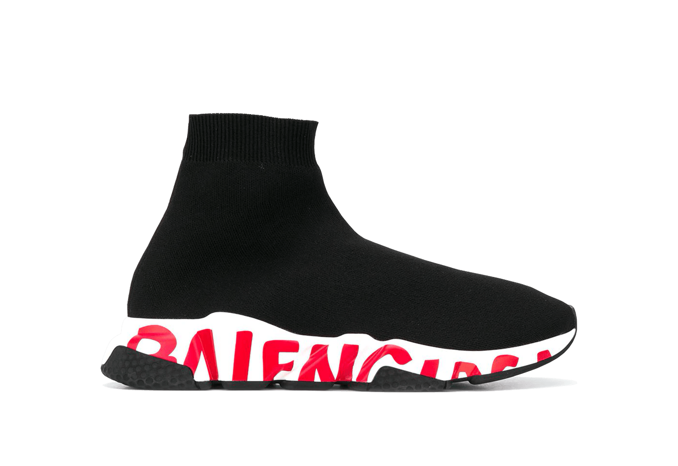 Buy New  Balenciaga  Speed  Trainers Graffiti Red