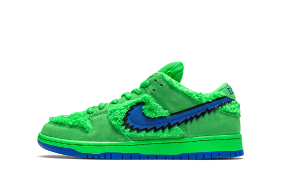 SB DUNK LOW Grateful Dead - Green Bear