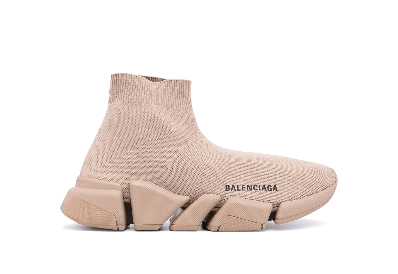 Buy New  Balenciaga  Speed  Trainers 2.0 Brown