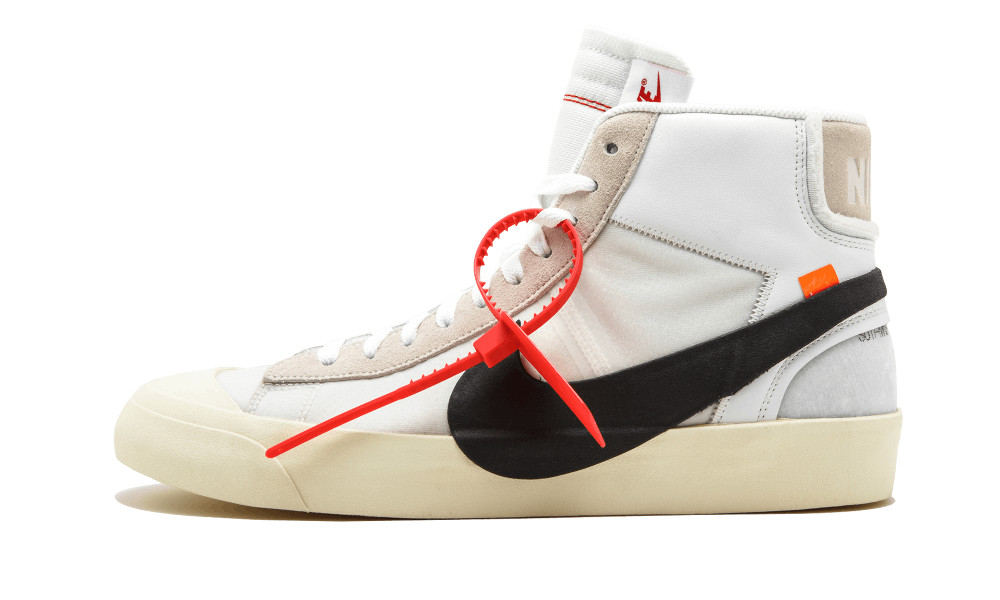 $195 Perfect Nike Off-White Blazer Mid / Off White Free Shipping via DHL new
