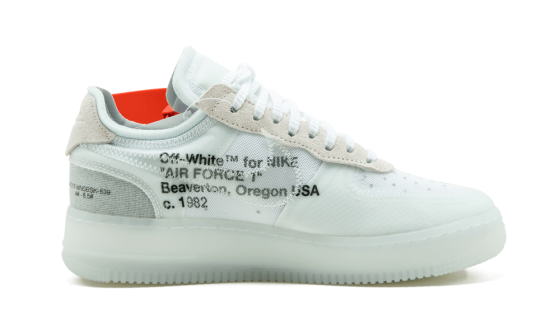 NIke x Off White Air Force 1 Low WHITE