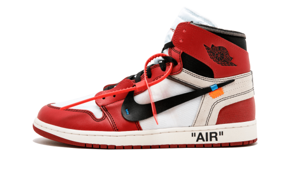 buy online bdfb3 4f14a Price of New Nike Off-White Air Jordan 1 Red / OW sneakers
