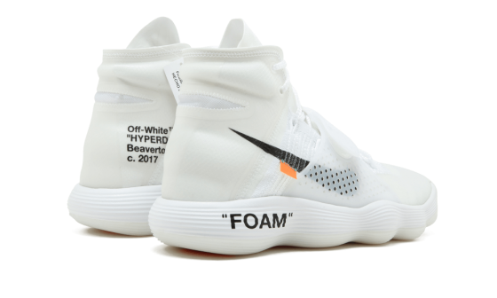 Nike x Off White Air Hyperdunk Flyknit WHITE