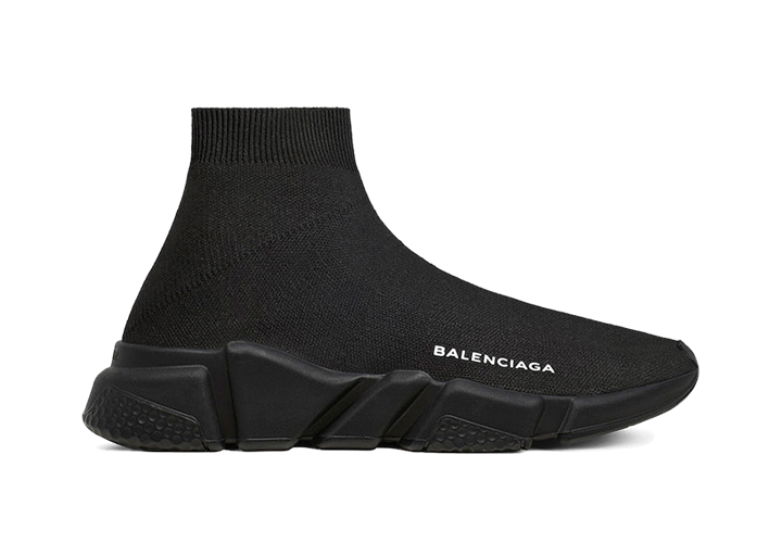 $195 Perfect Balenciaga Speed Trainers Mid Black Free Shipping Worldwide sneakers