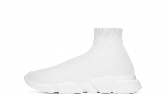 BALENCIAGA SPEED RUNNER MID WHITE