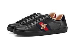 Buy New Gucci     Logo Leather Sneaker